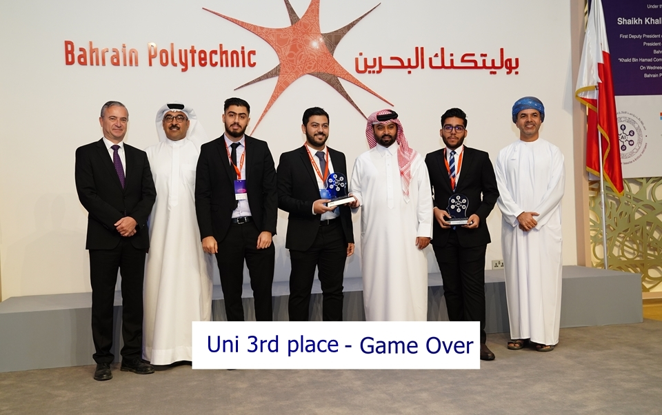 Uni 3rd place - Game Over